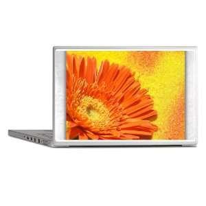 Laptop Notebook 14 Skin Cover Daisy Orange Gerbera