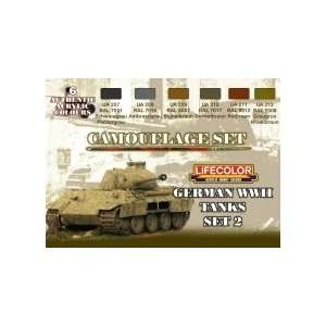 Lifecolor Camouflage Set   German WWII Tanks Set 2 Kitchen & Dining