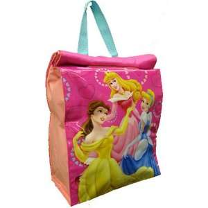 Disney Princess Girls Pink Insulated Lunchbox Lunch Box