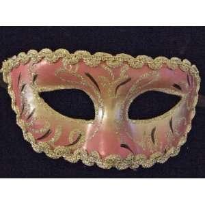 All That Glitters Burgundy and Gold Venetian Mask Mardi