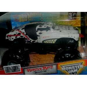2012 1/24 HOT WHEELS MONSTER JAM GRAVE DIGGER 30TH ANNIVERSARY EDITION