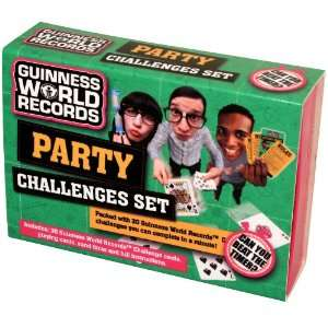 Guinness World Records Party Challenge Toys & Games
