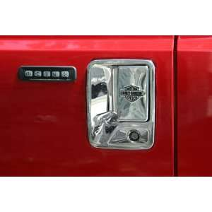 Putco 406016 Harley Davidson Door Handle Cover with Passenger Keyhole