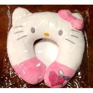 Sanrio Hello Kitty White with Pink Bow Angel Neck Rest