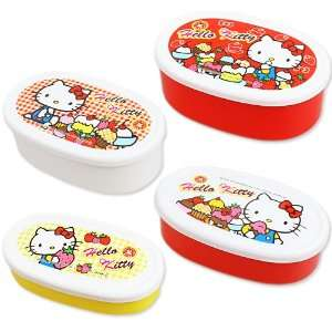 [Hello Kitty] lunch four case set case cake TM THE SWEET