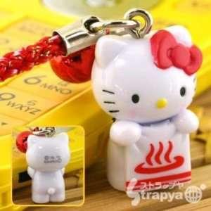 Sanrio Hello Kitty Onsen Hot Spring Bath Cell Phone Charm