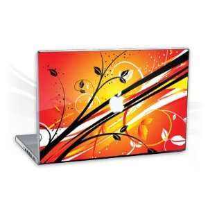 MacBook Pro 15,4   Sunset Flowers Notebook Laptop Vinyl Sticker