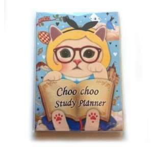 Jetoy Choo Choo Cat Kitty Alice Study Planner Scheduler