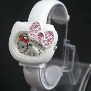 Hello Kitty Bracelet Watch Dk47 wt Quartz and a Hello Kitty Necklace