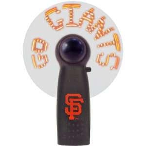 San Francisco Giants Message Fan