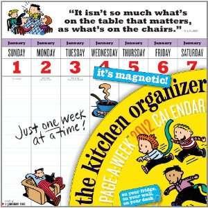 The Kitchen Organizer 2012 Calendar (Wall Calendar