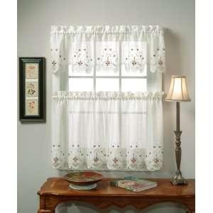 Sunshine Semi Sheer Curtains: Home & Kitchen