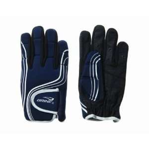 Brine Energy Womens Lacrosse Glove S   Navy: Sports & Outdoors
