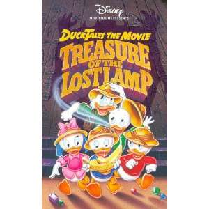 Presents Ducktales The Movie Treasure Of The Lost Lamp [VHS] (1990