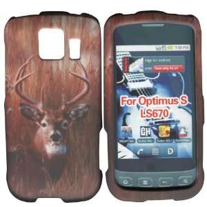 Buck Deer LG Optimus S, U, V LS670 Sprint, Virgin Mobile