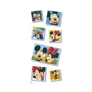 Mickey Mouse Snapshots Scrapbook Stickers (PDSCB48)