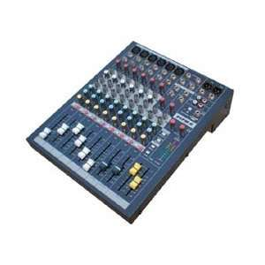 Audio 6 Channel Professional Stereo Console Mixer Musical Instruments