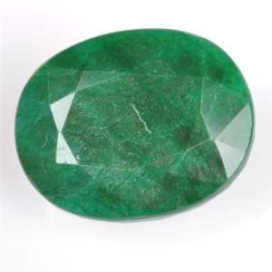 .40 Ct Natural Rare Green Emerald Oval Shape Loose Gemstone Jewelry