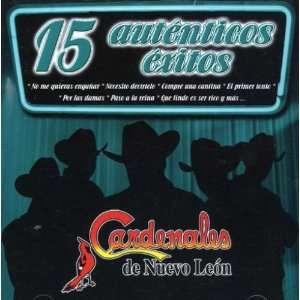 15 Autenticos Exitos Cardenales De Nuevo Leon Music