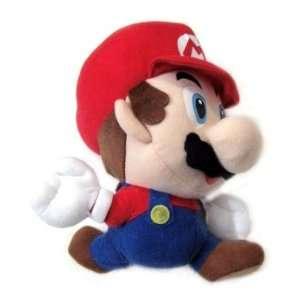 Nintendo 64 Super Mario Brothers Game Mario 8 Plush Figure (Jumping