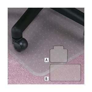 Beveled Edge Vinyl Anchormat Chair Mats
