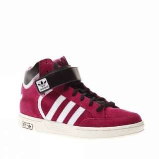 Adidas Trainers Shoes Kids Varial Mid St J Dark Pink Shoes