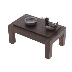 3pcs Mini Tea Table Set Model Toys & Games