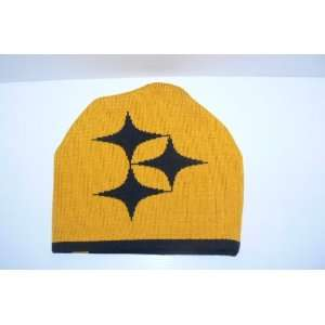 NFL Pittsburgh Steelers Team Fan Knit Beanie Hat Ski Skull