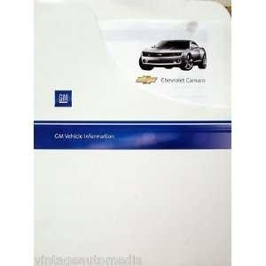 2010 Chevrolet Camaro 2LT Vehicle Information Packet
