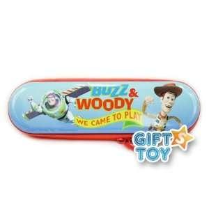 Disney Toy Story Buzz & Woody Tin Zipper Pencil Case