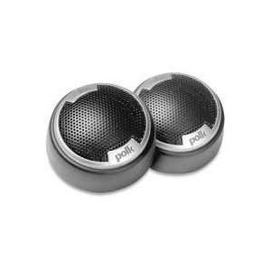 Polk Audio DB1001 1 Inch Silk/Polymer Composite Dome Tweeters (Pair