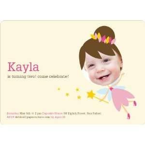 Fairy Princess Birthday Party Invitations Health