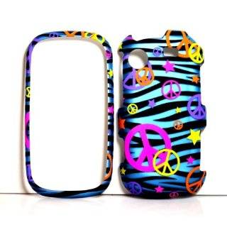 Zebra Print Protector Case for Samsung Messager Touch R630