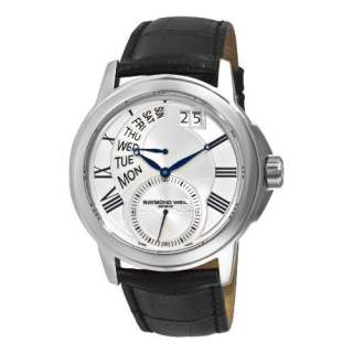 Raymond Weil Mens 9579 STC 65001 Tradition Silver Day Date Dial Watch