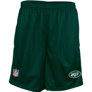 New York Jets Green Youth Coaches Mesh Shorts