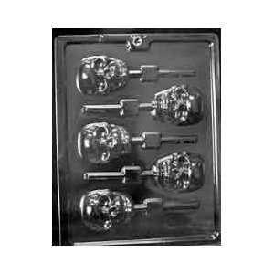 SCARY SKULL LOLLY Halloween Candy Mold Chocolate: Home