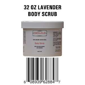 32 Oz Body Scrub Serum Lotion to Exfoliate Dead Cells   Contains Dead
