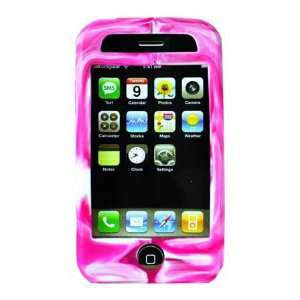 HHI iPhone 3G Illu Mix Cover Skin Pink and White