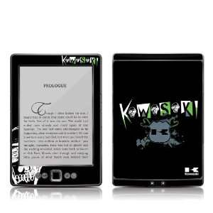 Kawasaki Skull Design Protective Decal Skin Sticker