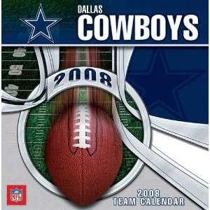 Dallas Cowboys 2008 Box Calendar: Sports & Outdoors
