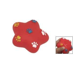 Como Red Star Squeaky Dog & Cat Pet Chew Toy Pet Supplies