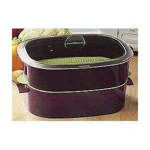 Tupperware Oval Microwave Cooker Steamer