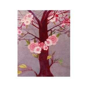 Hadley Hutton Plum Blossom Tree   Print