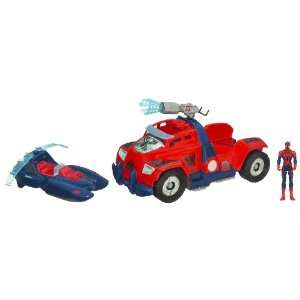 Spider Man Triple Battle Truck Toys & Games