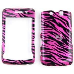 Blackberry Storm 2 9550 Transparent Design, Hot Pink Zebra