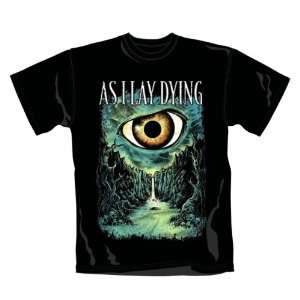 Distribution   As I Lay Dying T Shirt Death Valley (XL) Toys & Games