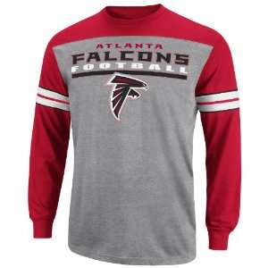 NFL Mens Atlanta Falcons End Of The Line IV Bgt Crdnl/Ath Gry Htr/Wht