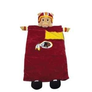 Washington Redskins NFL Plush Team Mascot Sleeping Bag (72)