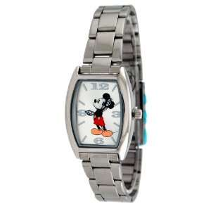 Womens Mickey Mouse Watch with Metal Band  Toys & Games