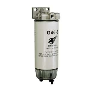 Griffin G460 2 Spin On Fuel Filter / Water Separator Automotive